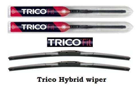 Дворники Trico Hybrid (комплект)